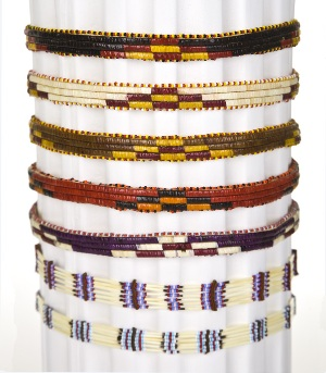 Woven hat band